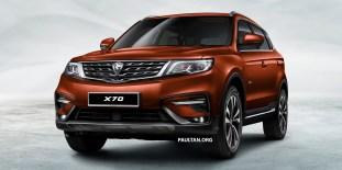 Proton X70 SUV 1 - Brown_BM