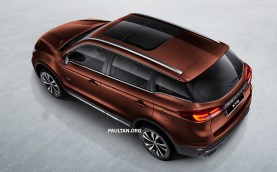 Proton X70 SUV 4 - Brown