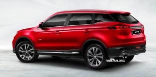 Proton X70 SUV 5 - Red_BM