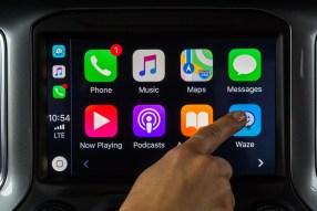 Waze App Chevrolet Silverado