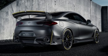 2018 Infiniti Project Black S Paris debut
