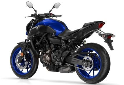 2019 Yamaha MT-07 Race Blu - 2