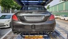 Mercedes-Benz W205 C-Class fl C43 spy 3