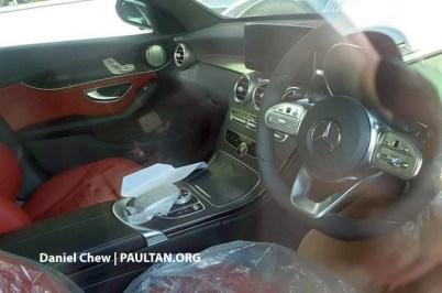 Mercedes-Benz W205 C-Class fl C43 spy 4