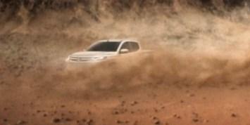New Mitsubishi Triton teaser