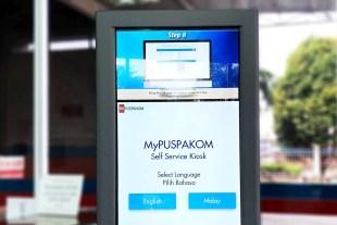 Puspakom MyPuspakom kiosk