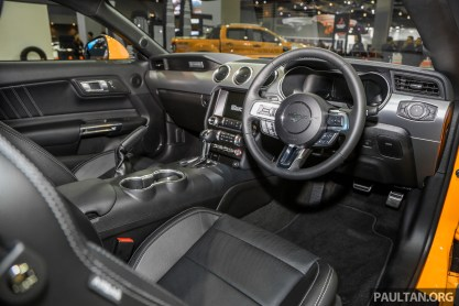 KLIMS18: 2019 Ford Mustang facelift previewed - 5 0L GT and