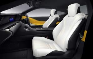 Lexus LC Luster Yellow-5
