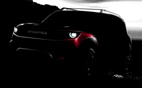 ford small bronco teaser sketch