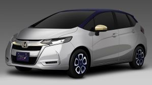 Honda Jazz Elegant Colour Collection