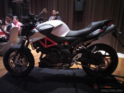 2019 Aprilia Shiver 900 Launch - -11