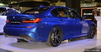 G20 BMW 3 Series-Singapore Motor Show 2