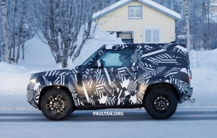 Next-gen Land Rover Defender 90 spyshots 4