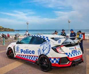 FK8 Honda Civic Type R NSW police 2