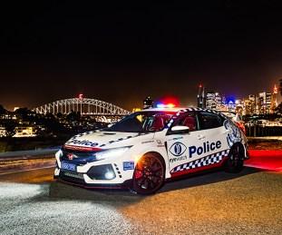 FK8 Honda Civic Type R NSW police 3