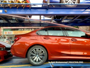 G20 BMW 3 Series spotted Malaysia 3