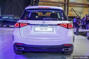 Mercedes GLE 450 Launch-5-BM