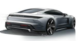 Porsche Taycan sketches 2