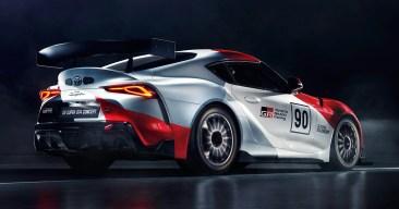 Toyota GR Supra GT4 Concept 4