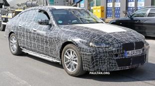 BMW i4 spyshot 2