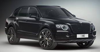 Bentley Bentayga Design Series Onyx