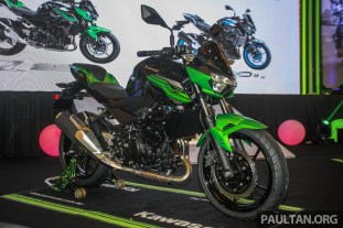 2019 Kawasaki Z400 SE ABS and Z250 ABS launched in Malaysia