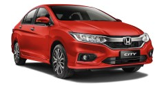 2019 Honda City Passion Red Pearl