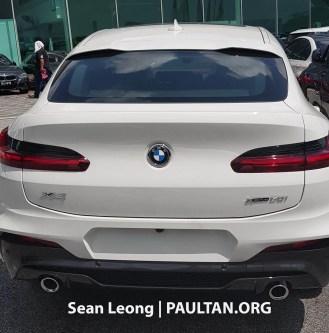G02 BMW X4 Malaysia spyshots 3