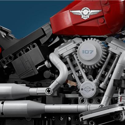 2019 Lego Creator Harley-Davidson Fat Boy - 5