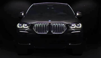 G06 BMW X6 official teaser 2