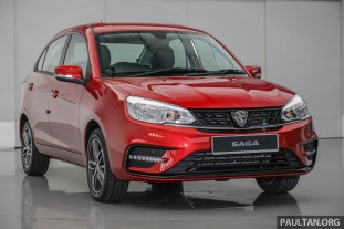 2019 Proton Saga facelift Premium AT 1.3 VVT_Ext-1