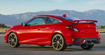 2020 Honda Civic Si Coupe 3