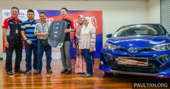 Toyota Vios prize giving BM Feat-1