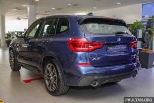 2019 BMW Malaysia X3 xDrive30i M Sport_Ext-2