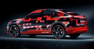 Audi e-tron teaser IAA 5