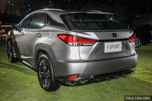 Lexus RX 300 F Sport Launch-2