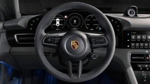Porsche Taycan Turbo S interior-2