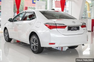Toyota Malaysia Corolla Altis 1.8G 2018 Showroom_Ext-2