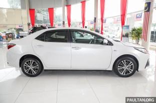Toyota Malaysia Corolla Altis 1.8G 2018 Showroom_Ext-3