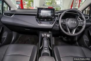 Toyota Malaysia Corolla Altis 1.8G 2019 Showroom_Int-1