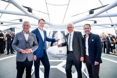 Vision Smart City - Mobilität der Zukunft heute erlebenStuttgart sees first urban flight of Volocopter in Europe