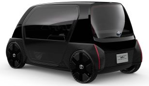 Toyota ultra-compact BEV concept for business 3