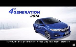 Honda City sedan-fourth-gen