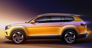 2021 Volkswagen Atlas sketches (3)