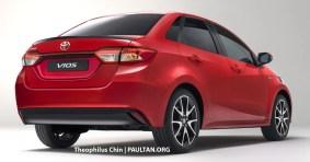 Next-gen Toyota Vios render (2)
