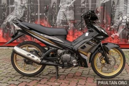 Yamaha LC135 V1 restore BM-5