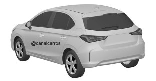 New Honda Civic Hatchback patent drawings (3)