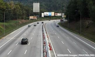 Traffic clear Bernama wm