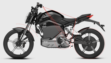 2020 Super Soco electric motorcycle - 8