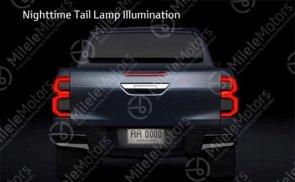 2021 Toyota Hilux facelift leak 7